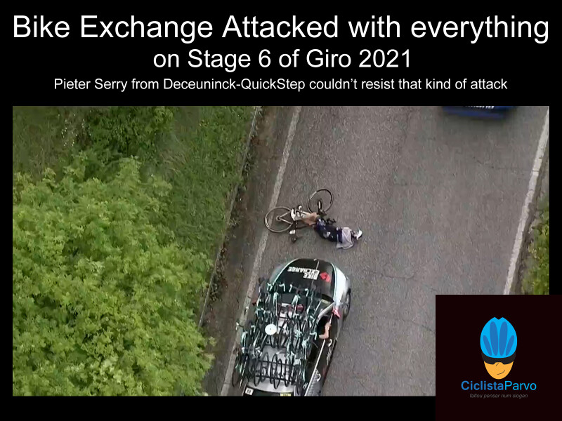 Bike Exchange Attacked with everything on Stage 6 of Giro 2021