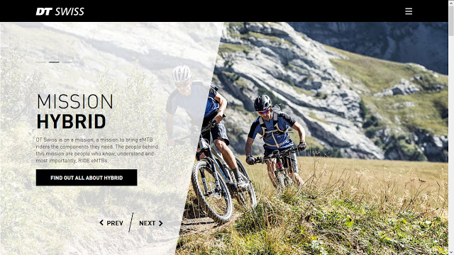 The New DT Swiss Website is now live