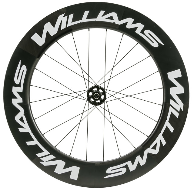 Williams launches New System 45, 60 and 90 Road Carbon Wheels