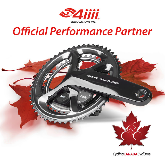 4iiii Innovations announces Official Partnership with Cycling Canada