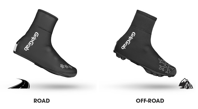 Road & Off-Road Shoe Covers by GripGrab