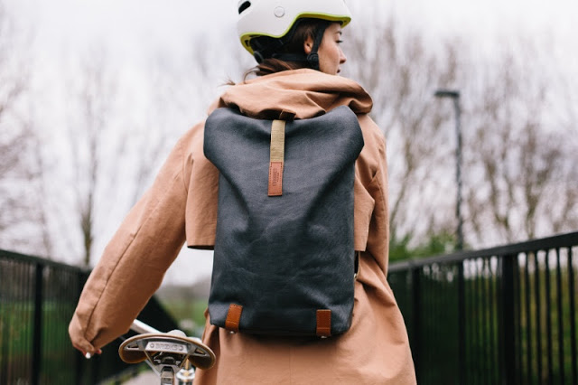 New Pickwick Leather Backpack from Brooks