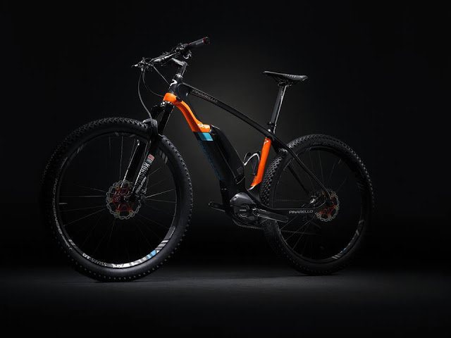 Pinarello revealed their New Andromeda e-MTB