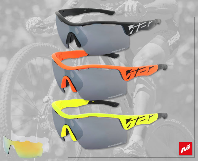 New Mito II Cycling Glasses from Massi Bikes